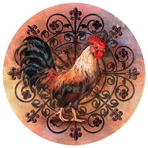 Thirstystone Stoneware Coaster Set Rooster product image