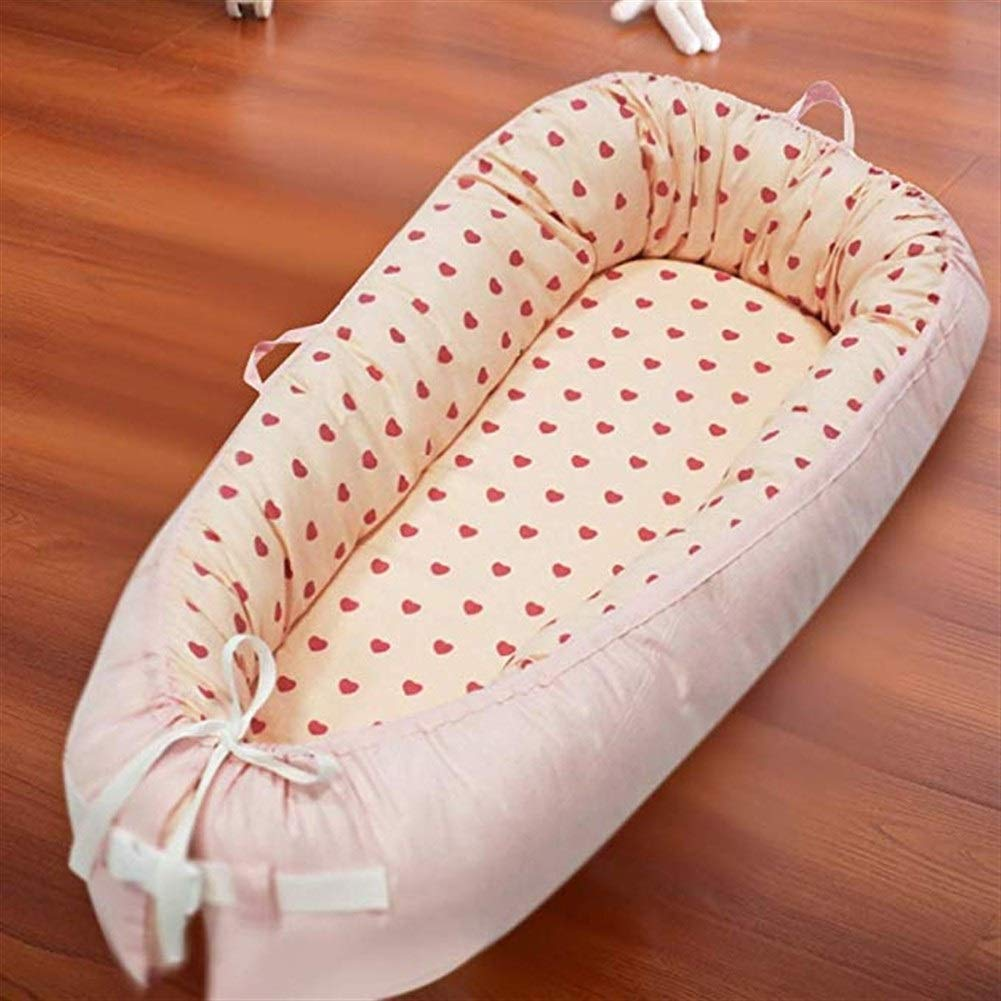 ETERLY Portable Baby Sleeping Bag Newborn Autumn and Winter Thickening Baby Holding Anti-Kicking Spring Removable and Washable Bionic Bed (Color : A) by ETERLY