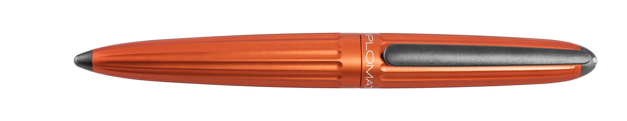 Diplomat AERO orange, fountain pen, medium nib M by Diplomat (Image #1)