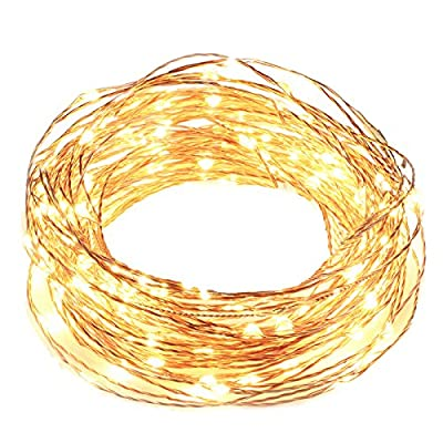 Solar String Lights, 8 Modes Upgrade Gotideal 100 LEDs Starry String Lights, Outdoor Decorative Lighting for Landscape, Faries Garden Homes Festival Party