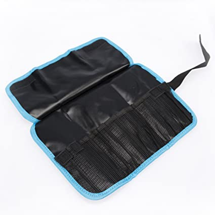 Teutonic Tools Tool Roll Up Bag Combo 2 Pack 25 Pockets Pouch Waterproof Kit