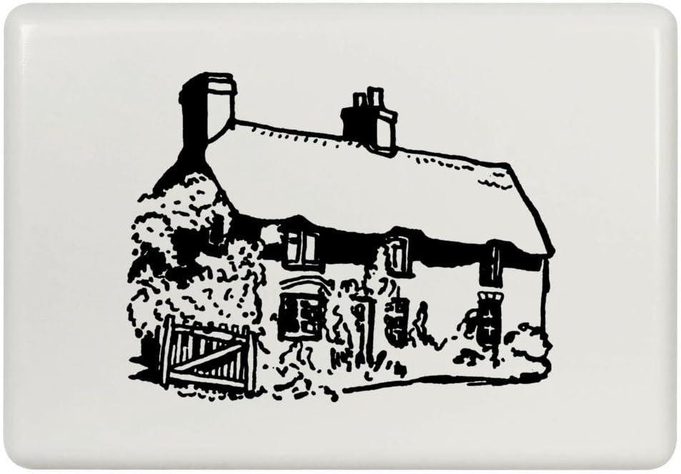 Azeeda 'Thatched Cottage' Fridge Magnet (FM00015816)
