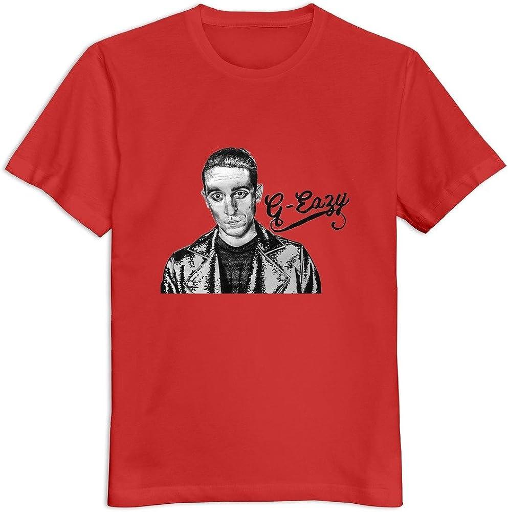 Soulya Men's G Eazy T-Shirt Size US White