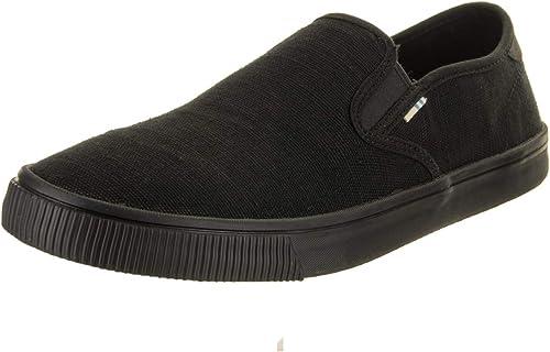 TOMS Herren Men Baja Black Sneakers: : Schuhe