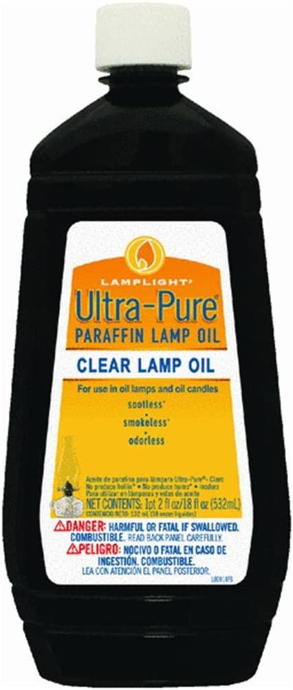 Lamplight 60014 Ultra-Pure Lamp Oil (Pack of 12)