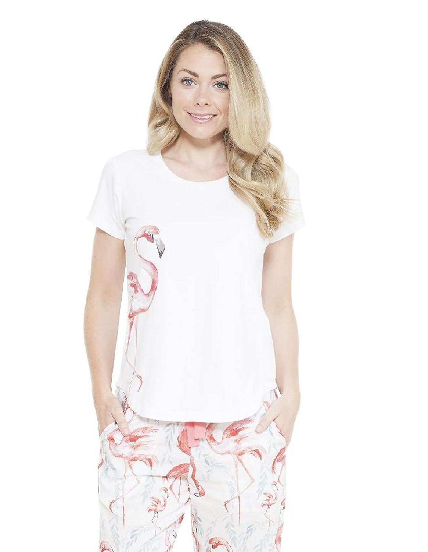 Cyberjammies Womens Grace Placement Print T-Shirt 3668