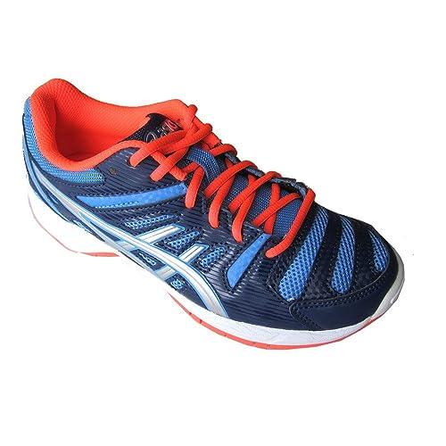 9332234140410 Asics Baskets Junior Fitness Gel-Beyond 4GS Poudre Bleu Argent Corail uk13-