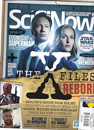 Sci Fi Now Magazine (Issue 115 - The X Files Reborn) for sale  Delivered anywhere in USA