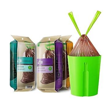 Boehner - Bolsa de Basura de plástico desechable para Perro, 40 Unidades, Biodegradable, 40 Unidades, 20 L