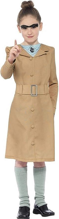Girls Childrens Roald Dahl Miss Trunchbull Fancy Dress Costume Book Day