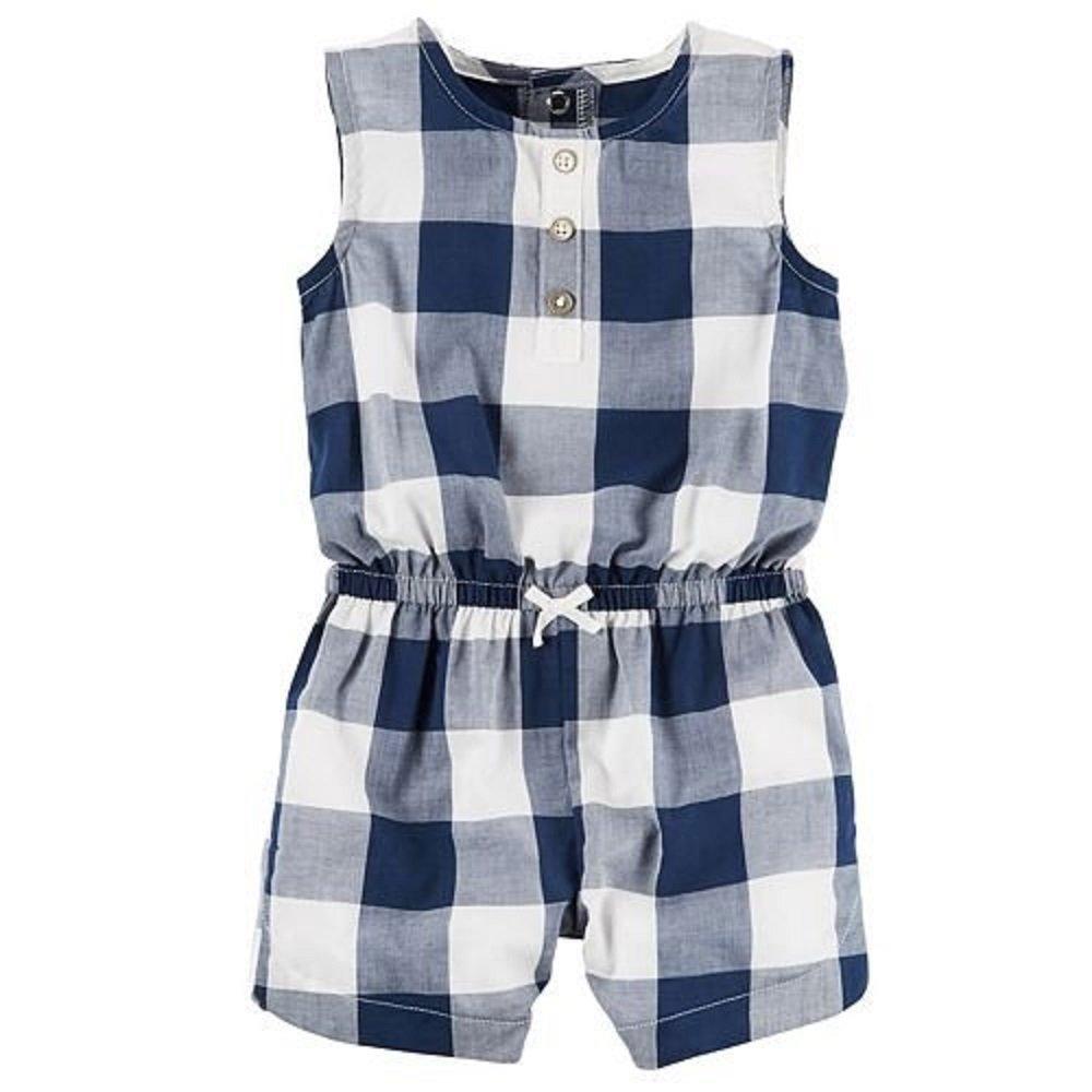 本物品質の Baby 3 Girlバッファローチェックロンパース B071CYX5J3 3 Months, 小千谷市:99226b37 --- svecha37.ru