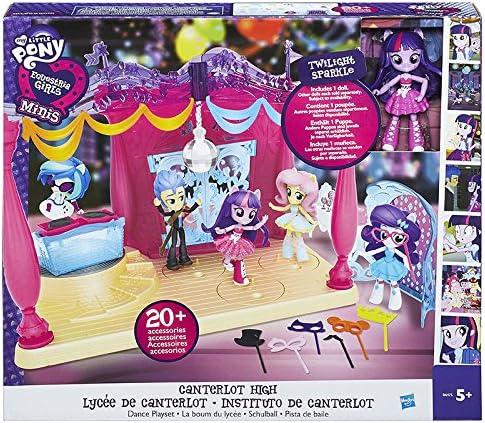 Hasbro Equestria Girls B9484ES0 Spielset Minis Rainbow Dash Music Class Solid