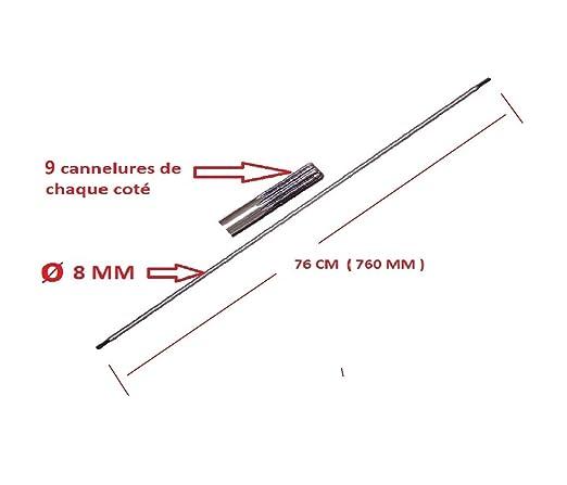 Motoculture-Online Axe de Transmission (entraînement) 9 ...