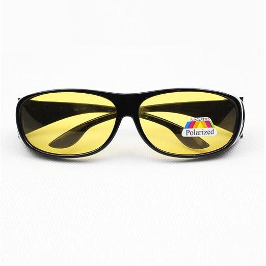 75f5f4676d2 Amazon.com  Zehui Unisex HD Lenses Polarized Sunglasses Wear over  Prescription Glasses Night Vision Anti-sand Anti-glare Glasses UV  Protection  Sports   ...