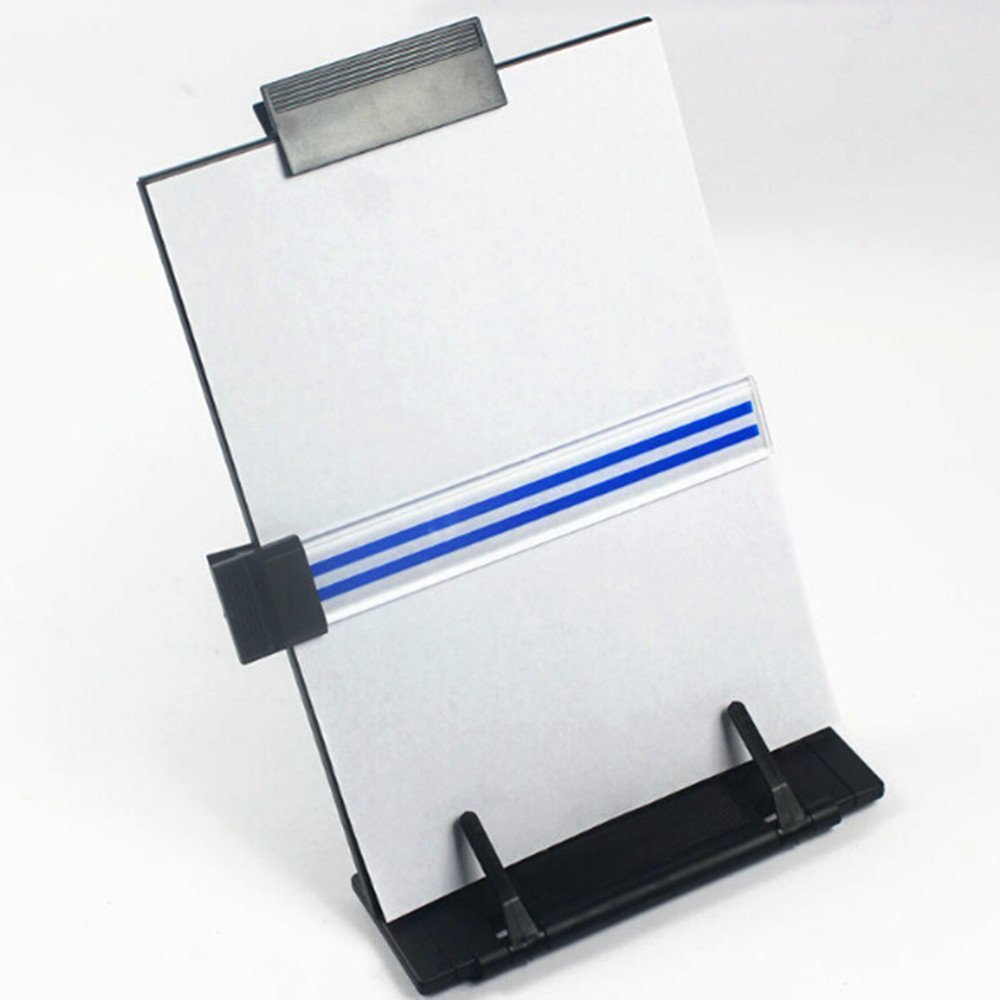 A4 New Black Metal Desktop Document Book Holder Stand With 7 Adjustable Positions by Life VC (Image #7)