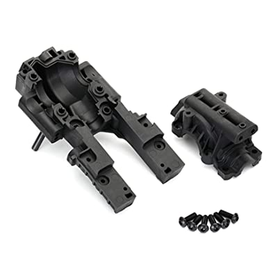 Traxxas 8630 Front Bulkhead, Black: Toys & Games