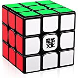D-FantiX Moyu Weilong GTS V2 M Magnetic Speed Cube 3x3, Weilong GTS2 M Magic Cube Puzzle Black