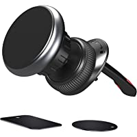 Nephit Verbeterde magnetische telefoonhouder voor de auto, 360 graden draaibare ventilatie, gleuf, mobiele…