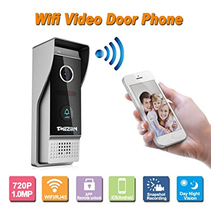 Amazon Tmezon Wirelesswired Wifi Ip Video Door Phone Doorbell