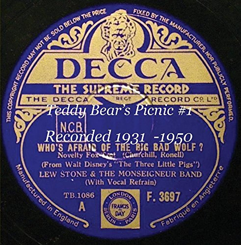 Price comparison product image Teddy Bear's Picnic 1 Recorded 1931 -1950