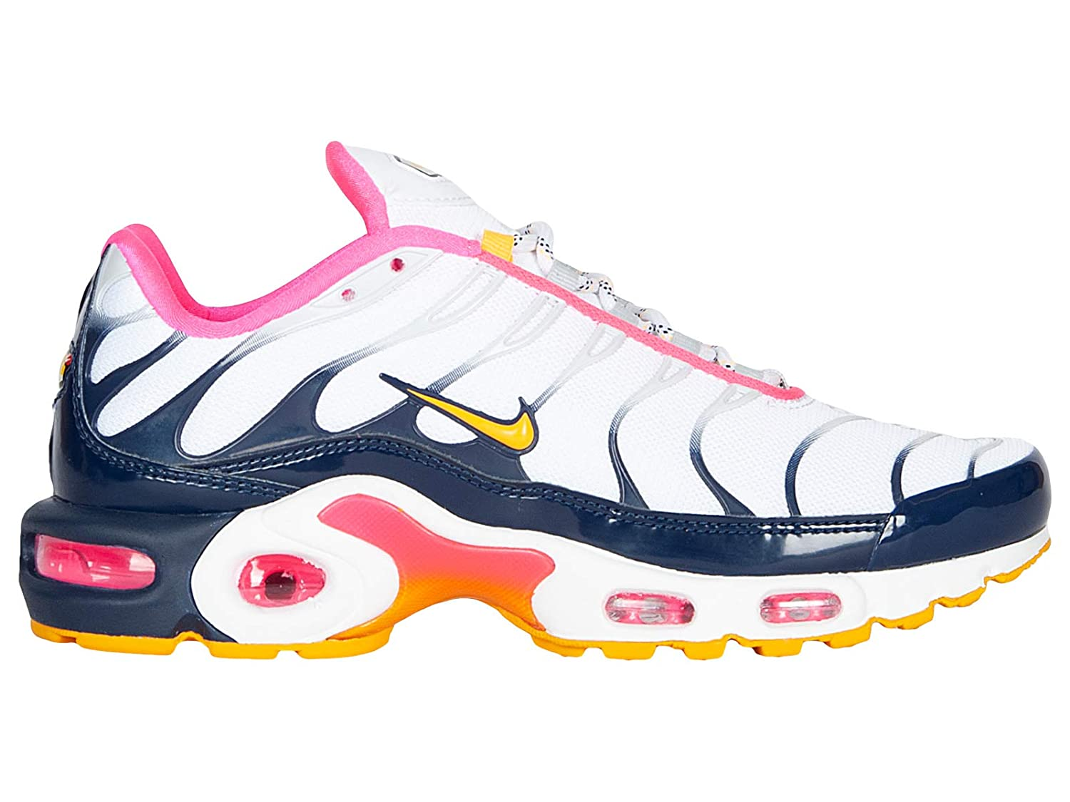 brand new b2ee5 51a05 Amazon.com | Nike Women's Air Max Plus Premium Pure Platinum ...