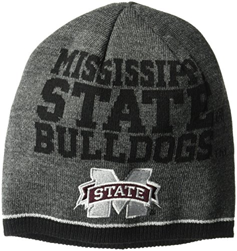 NCAA Mississippi State Bulldogs Player Beanie, One Size, Gray Mississippi State Player