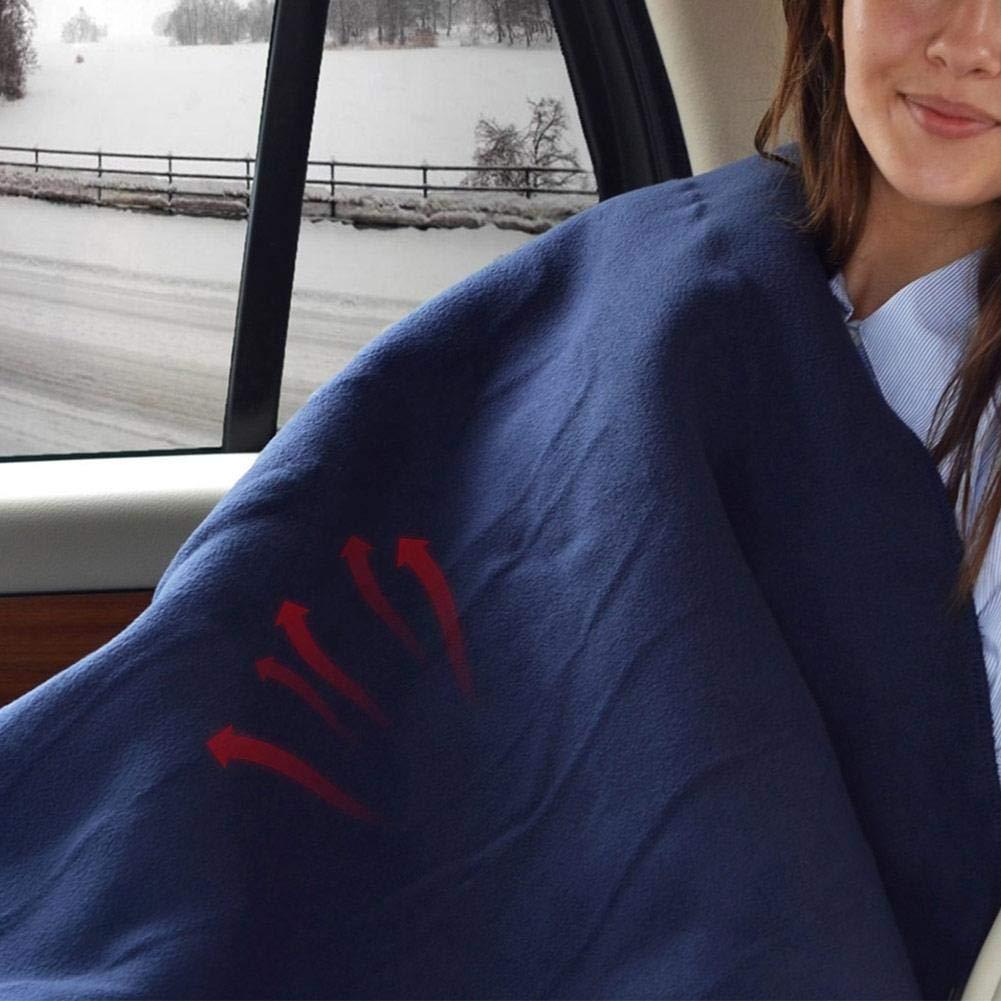 hogar y Camping Blue-Yan Manta el/éctrica para autom/óvil con calefacci/ón: 12 voltios Viaje por Carretera excelente para Clima fr/ío