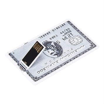 Disco AMZIJ U Unidad Flash USB Pendrive U Stick Bank Tarjeta de ...