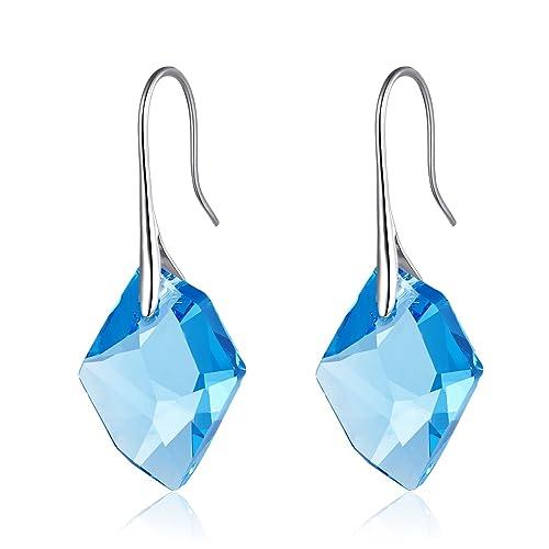 """Pendientes Cristales de Gota para Mujeres, """"Piedra de la Buena Suerte"""", Pendientes"""