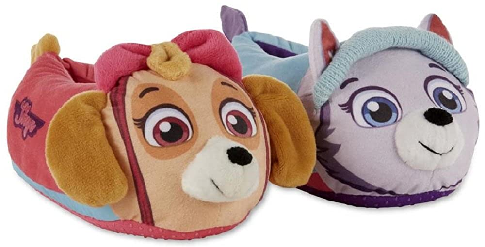 Nickelodeon Paw Patrol Boys//Girls Chase /& Marshall Slippers