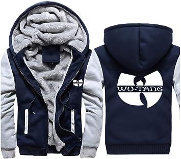 メンズパーカーフルジップベルベットウータンは、冬に適し厚手のフード付きセーターコートフリースパーカーを、印刷します