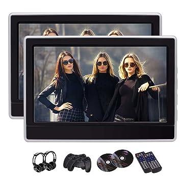 Ultra Thin coches reproductor de DVD 11.6 pulgadas HD 1366 * 768 TFT LCD de pantalla