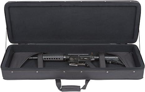 color negro Funda para armas de airsoft SKB Single Pistol