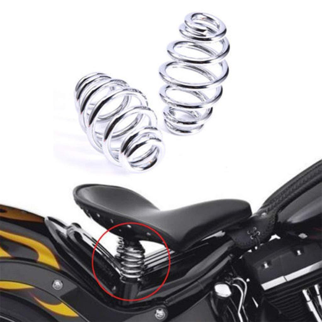 Cobre H HILABEE Muelles de Asiento de Motocicleta Amortiguador de Almohadilla de Sill/ín Modelo Universal para Motocicletas
