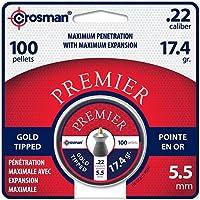 Crosman GTP22 Gold Tip, Pellet 0.22 Cal (100 CT)