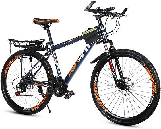GRXXX Bicicleta 21 Velocidad Doble Frenos de Disco Velocidad ...