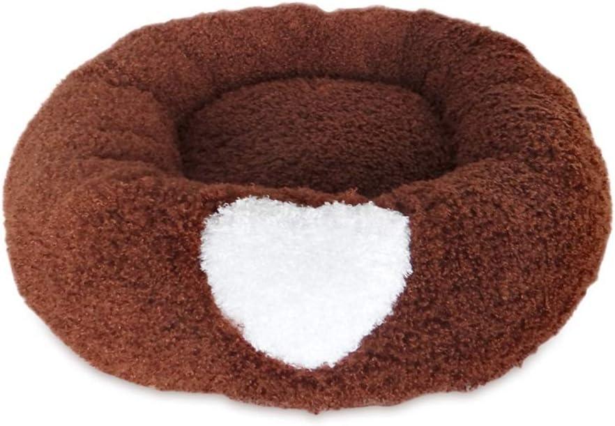 Fondo Antiscivolo Lavabile in Lavatrice Donut Pet Bed Cuscino for Gatti Letto Sacco a Pelo Sollievo Ortopedico e Sonno Migliorato Dog Cat Round Warm Cuddler Kennel Soft Puppy Sofa