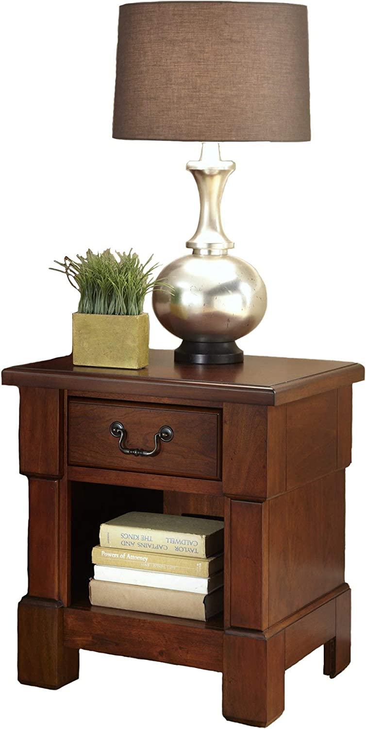 The Aspen Rustic Cherry Night Stand by Home Styles