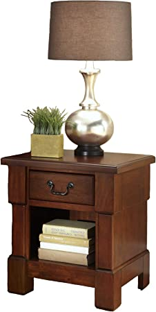 The Aspen Rustic Cherry Night Stand By Home Styles Furniture Decor