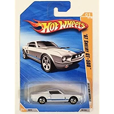 Hot Wheels 2010 New Models 01/44 White '67 Shelby GT-500: Toys & Games