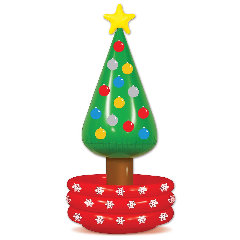 Amazon.com: Beistle 20020 Inflatable Christmas Tree Cooler, 26\