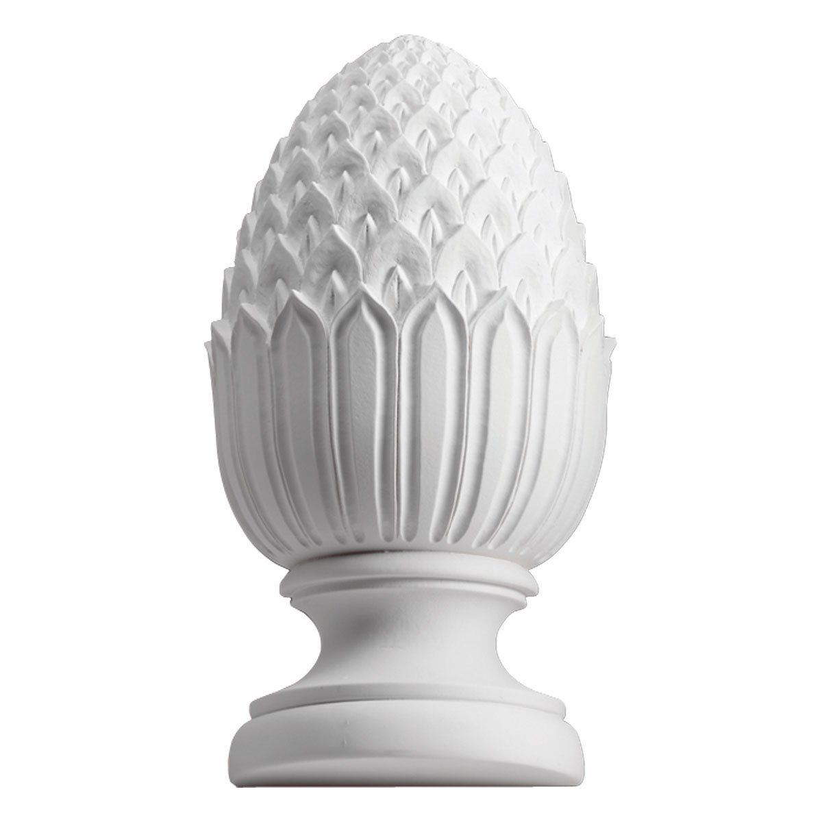 Fypon PHFR5X11 5 5/8''OW x 11''H x 4 3/4''BW Full Round Urethane Pineapple