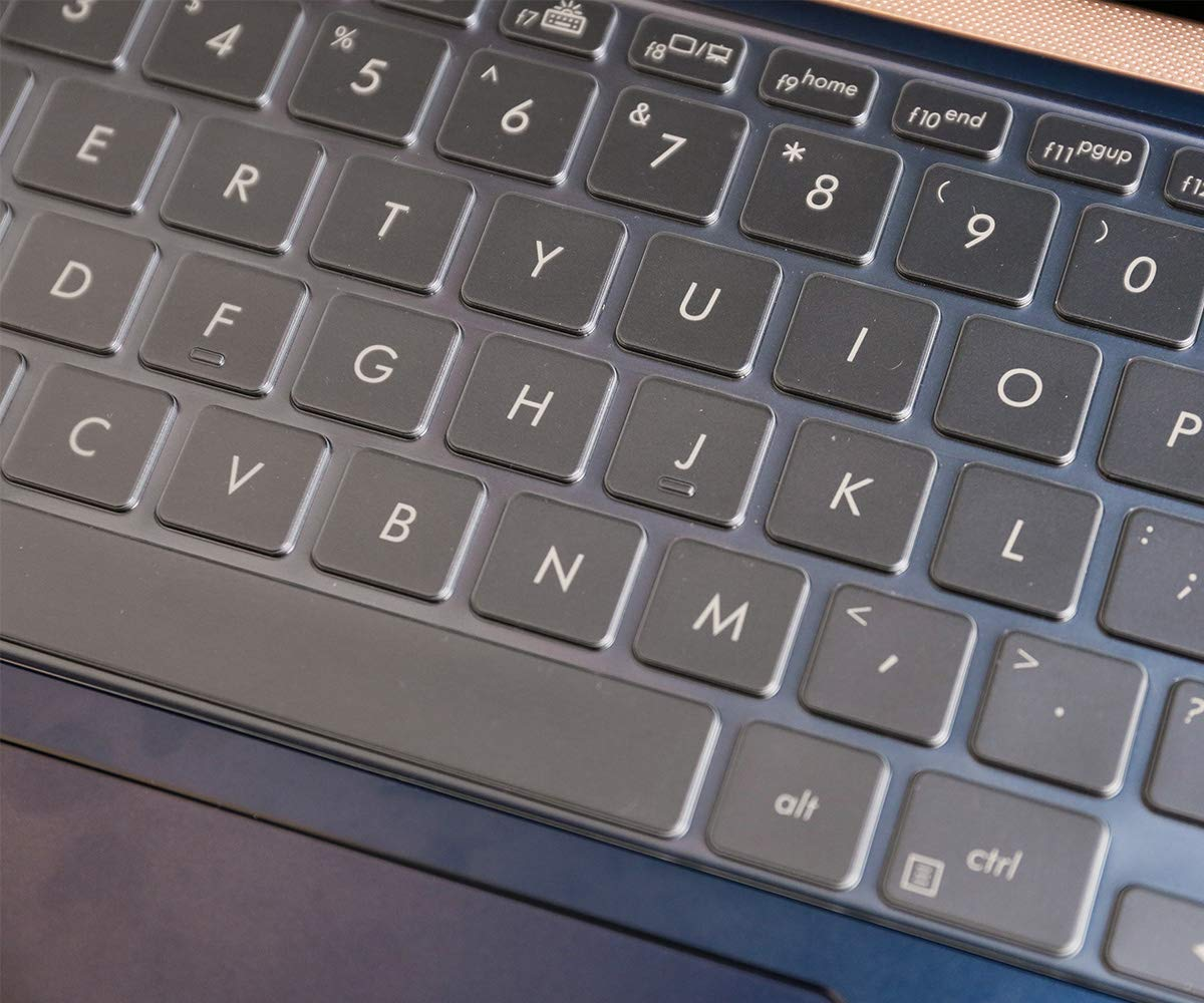 weich 14 Zoll ultrad/ünn ASUS ZenBook UX433FA UX433FN Laptop-Tastatur TPU Tastatur-Abdeckung f/ür 35,6 cm
