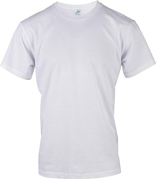 Blu Cherry - Camiseta básica para Hombre (3 Unidades, algodón ...