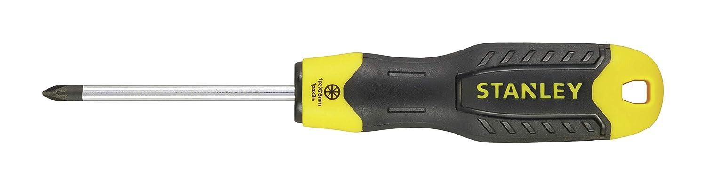 Destornillador pozidriv cushion grip 1pt x 75mm STANLEY 0-64-955