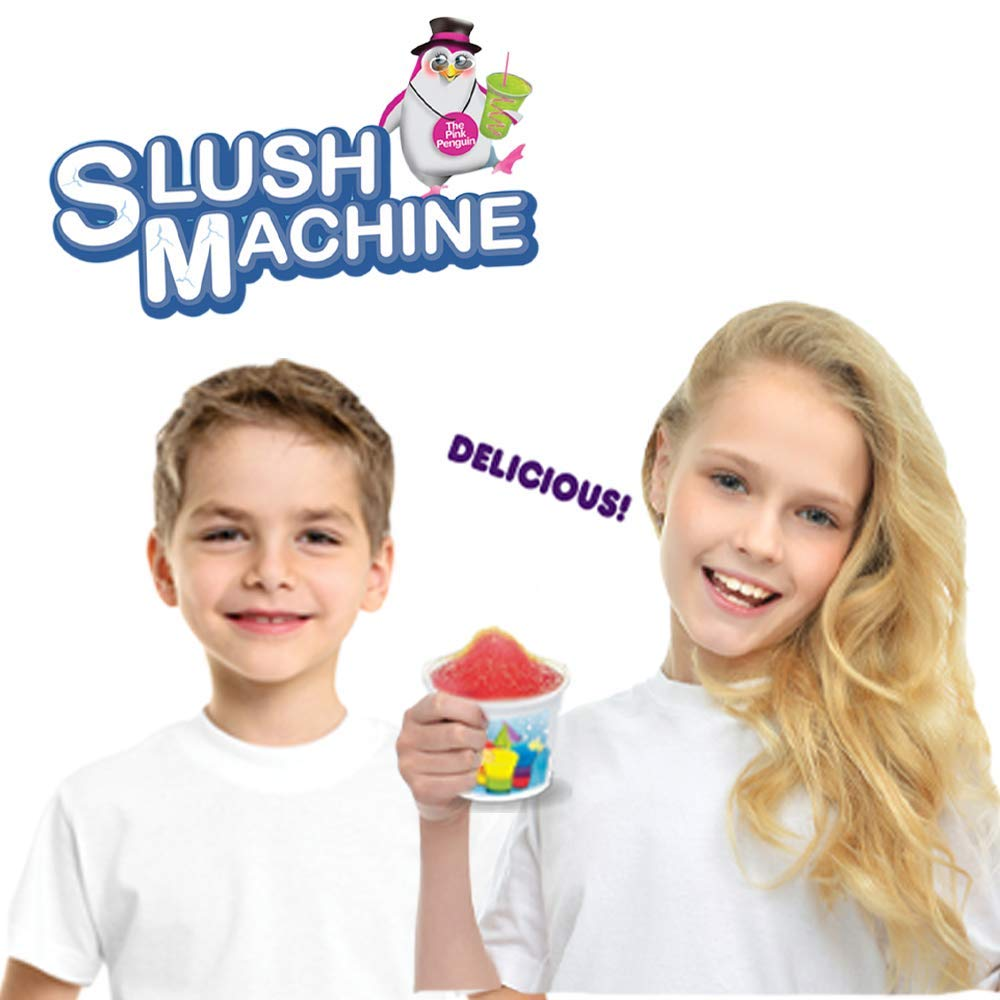 Amav Toys Slush Machine Maker - Make Your Own Homemade Slush Multi Color with Your Kids - Best Activity for Friends To Do Together - Perfect Present For Kids Aged 5+ by AMAV Toys