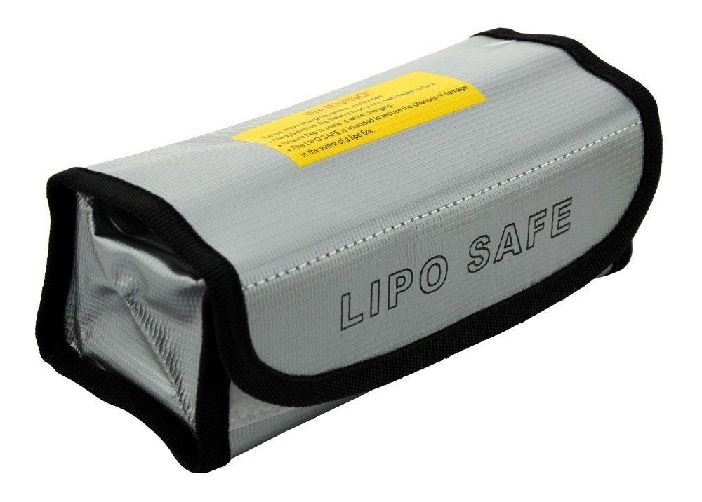 60mm 75 JVJ Sac de protection anti-feu pour accus LiPo 185
