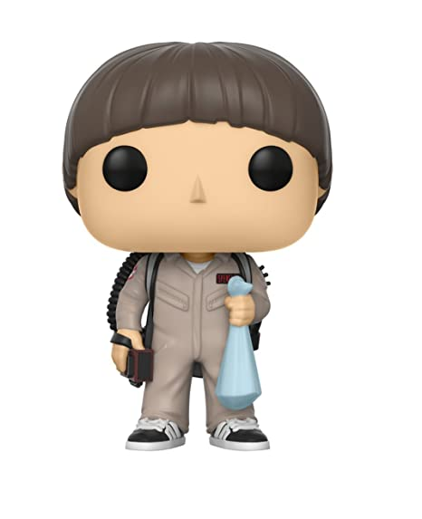 Funko - POP! Vinilo Colección Stranger Things - Figura Will Ghostbuster (21488)