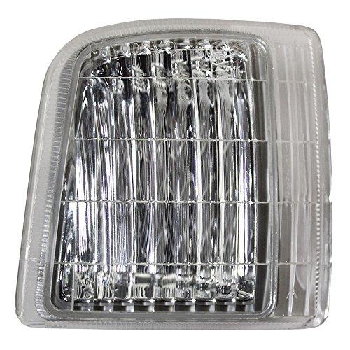 Passengers Park Signal Corner Marker Light Lamp Replacement for GMC Chevrolet Van 16524076 AutoAndArt ()