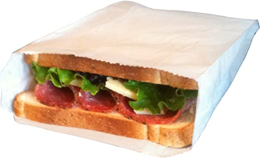 Bolsas de papel para sándwiches, embalaje de plástico ...